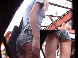 school girl upskirt